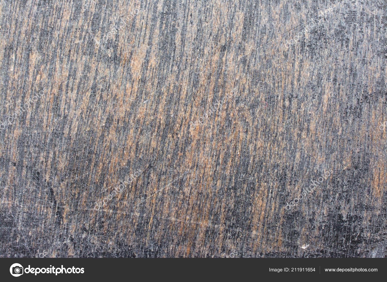 Grunge Rayé Texture Vernis Noir Sur Fond Boisu2013 Images De Stock Libres De  Droits