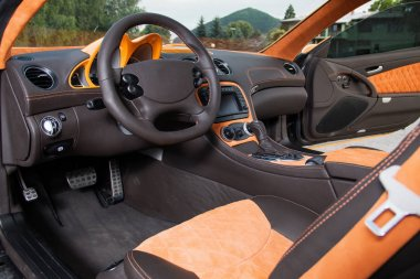 Car interior luxury service