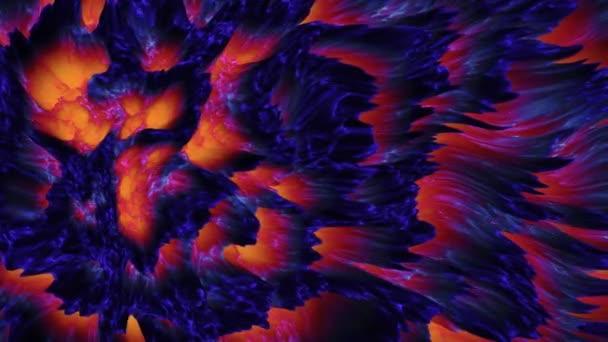 Abstraktní barevné láva magma pozadí, temná hmota