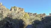 Regione montagnosa Sonoran Area naturale a Boyce Thompson Arboretum Sate Park, Arizona