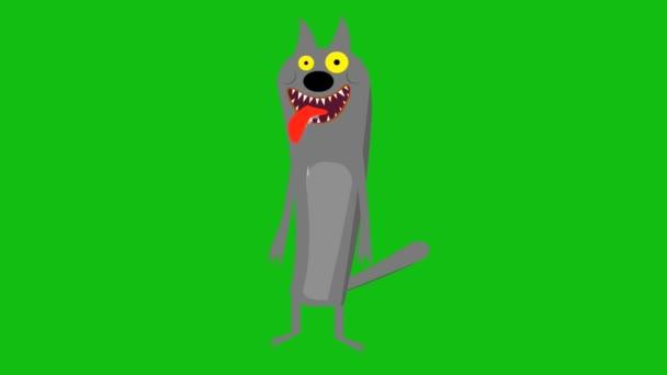 Rajzfilm Farkas animáció