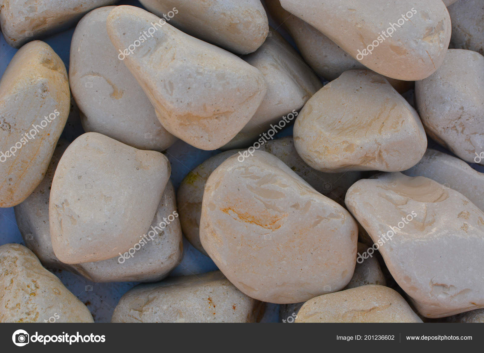 Pebbles Small Stones Garden Decoration U2014 Stock Photo