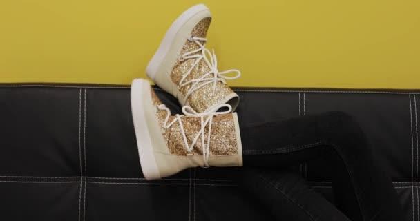 Female ugg boots, creative