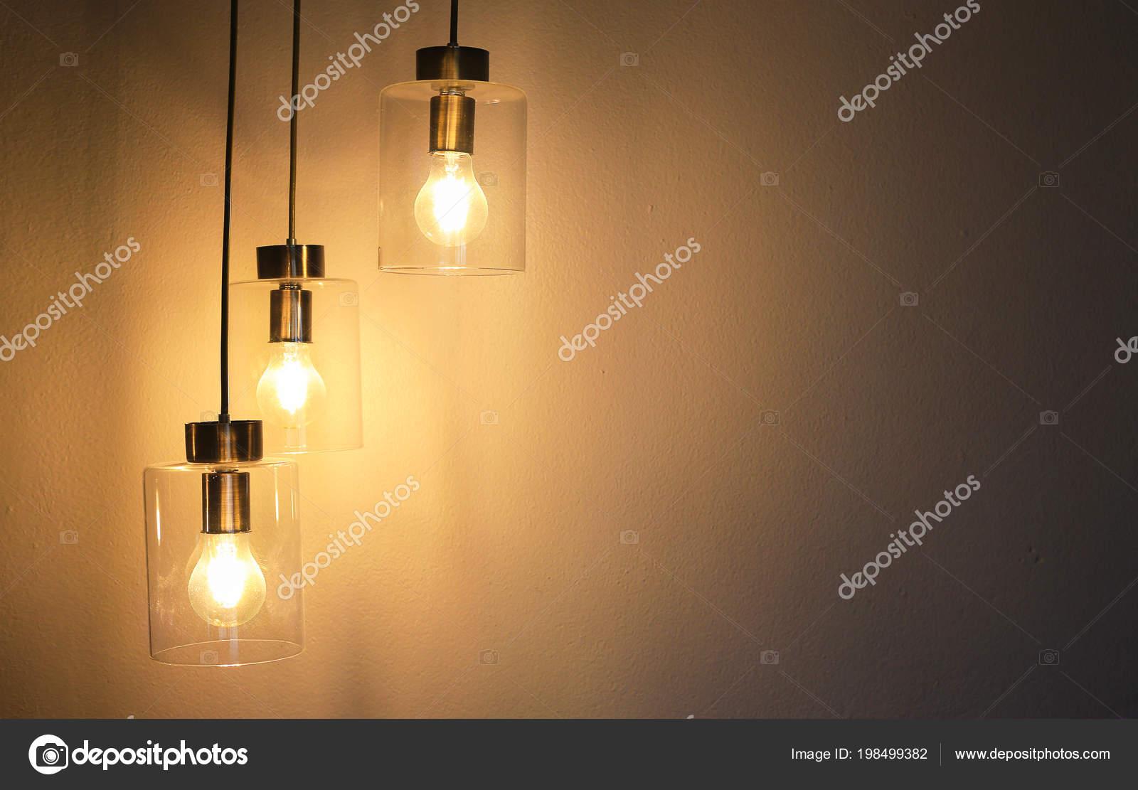 Vintage Luxus Innenbeleuchtung Lampe Für Raumdekor — Stockfoto ...