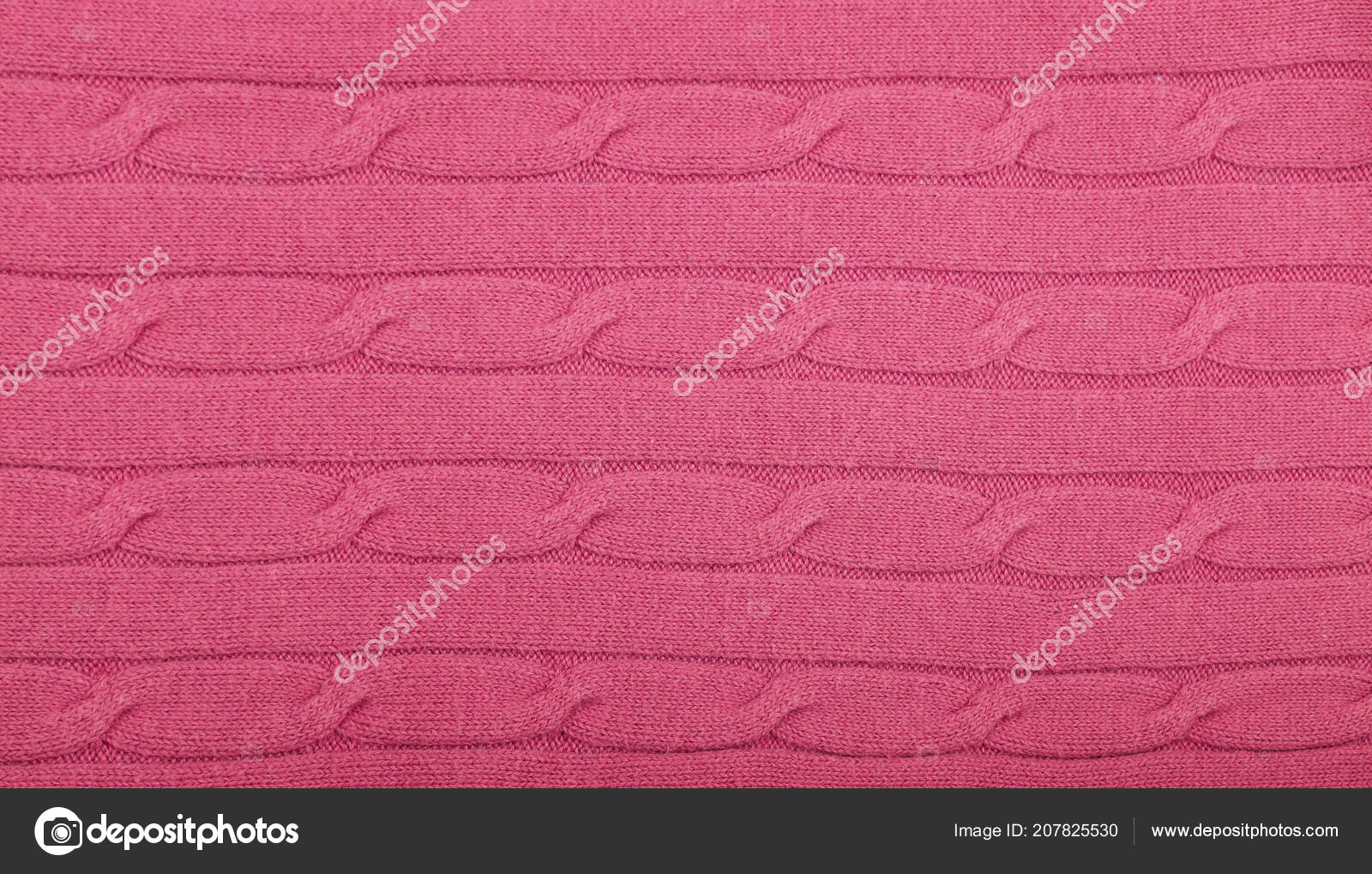 2c992e1438f Close up background of pink knitted wool jersey fabric texture — Photo by  BreakingTheWalls| ...