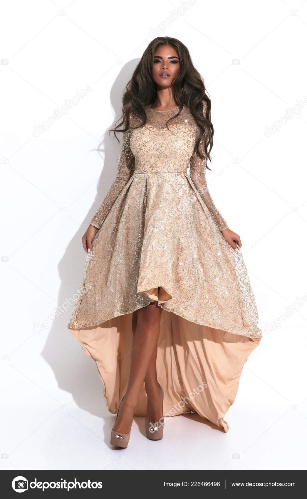 Słodka Młoda Suczka Przetargu Sukienka Barbie Krótki Długi