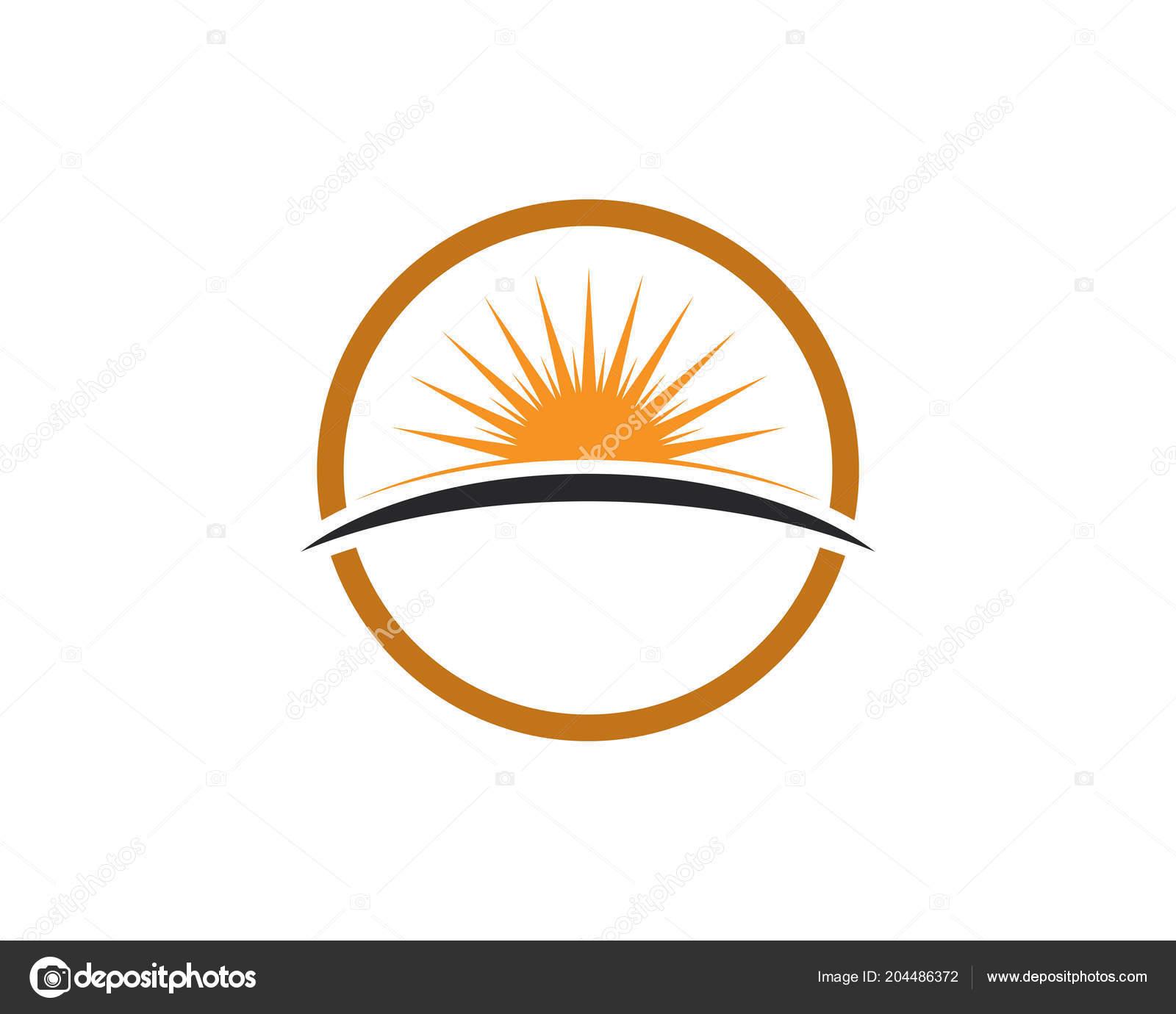 Sun Generic Logo Symbols Template Stock Vector Hatigraphic