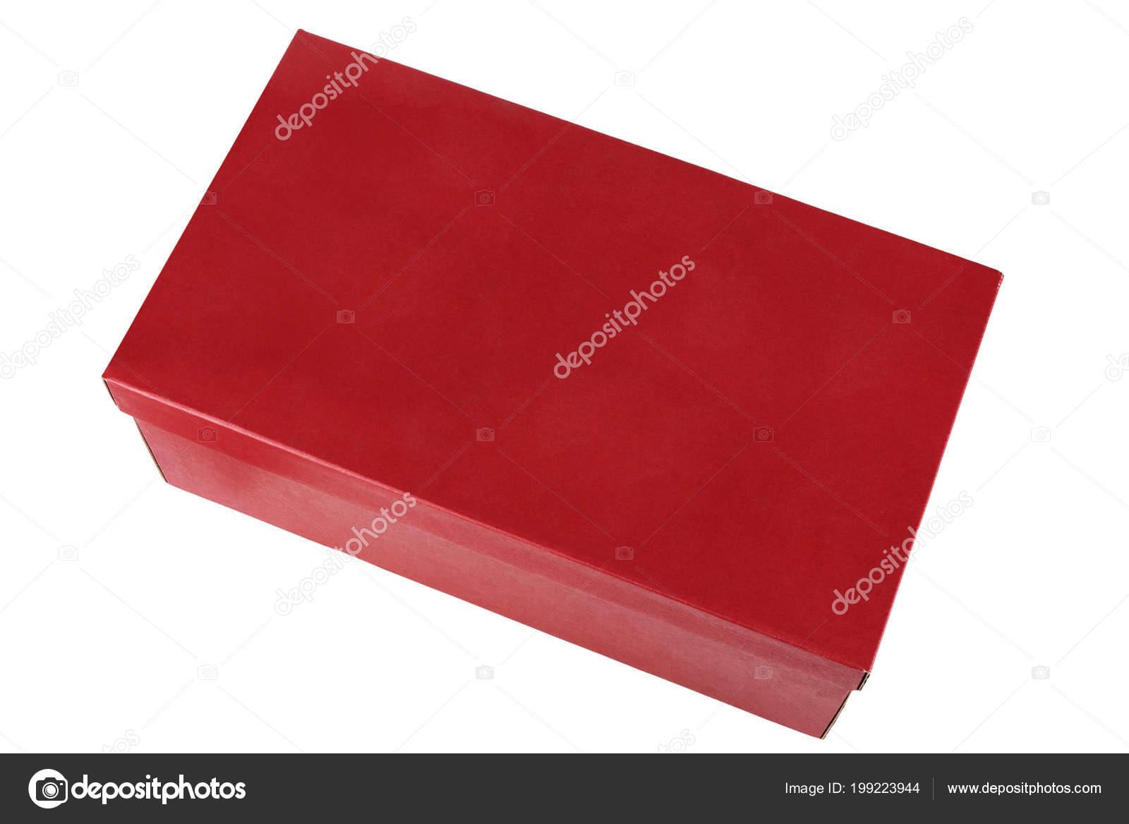boîte chaussure sans isolé sur fond blanc — photographie alexshyripa