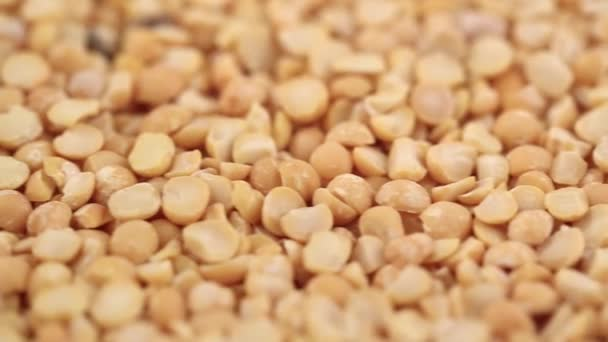 a lot of yellow peas as background