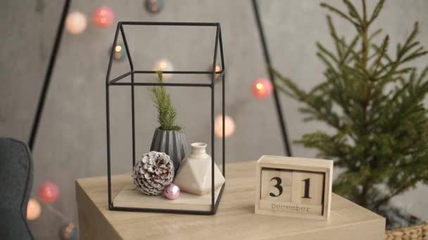 Stilvolle weihnachten skandinavischen interieur details komfort