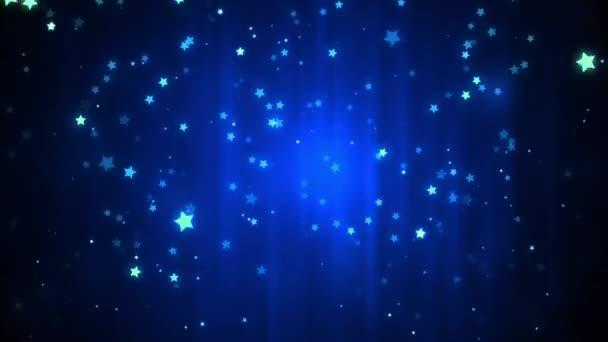 Glittering Stars Falling