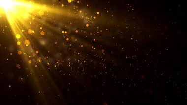 Worship and Prayer based cinematic light rays background useful for divine, spiritual, fantasy concepts.