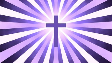 Christian Worship and Prayer based Sunburst and light rays background useful for divine, spiritual, fantasy concepts.