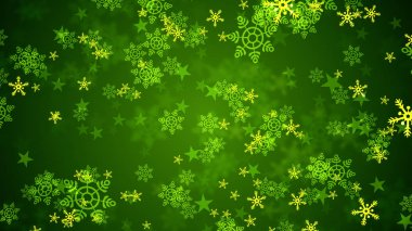 Background of snowflakes which can be useful for Christmas,Holidays and New Year designs and presentation