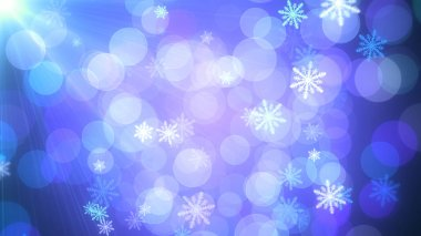 Background of Christmas Snowflakes which can be useful for Christmas,Holidays and New Year designs and presentation