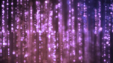 Glittering Particles trails background which is suited for broadcast, commercials and presentations.