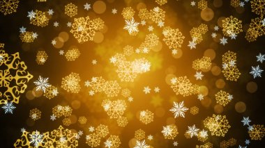 Background of Christmas Snowflakes which can be useful for Christmas,Holidays and New Year designs and presentation.