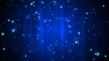 Glowing stars and glittering particles for celebration and parties and events.