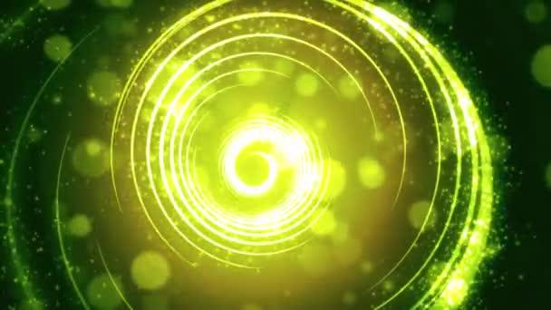 Světlo pruhy oplývající bokeh světlých částic pozadí animace, vhodný pro vysílání, reklamy a prezentace. Lze použít také v módě, fotografie nebo firemní animace.