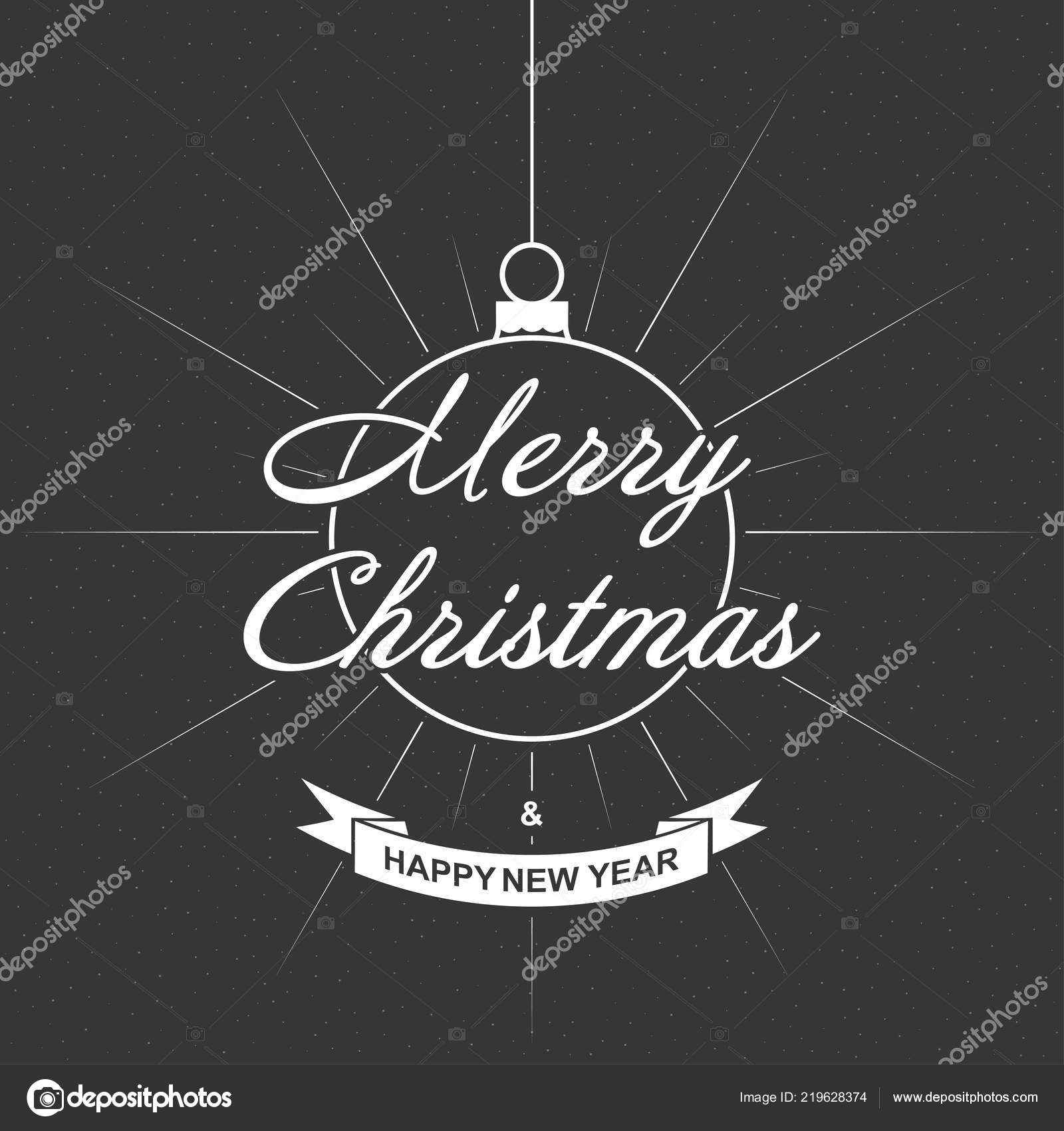 Christmas Background Christmas Greeting Card Template With Wishes