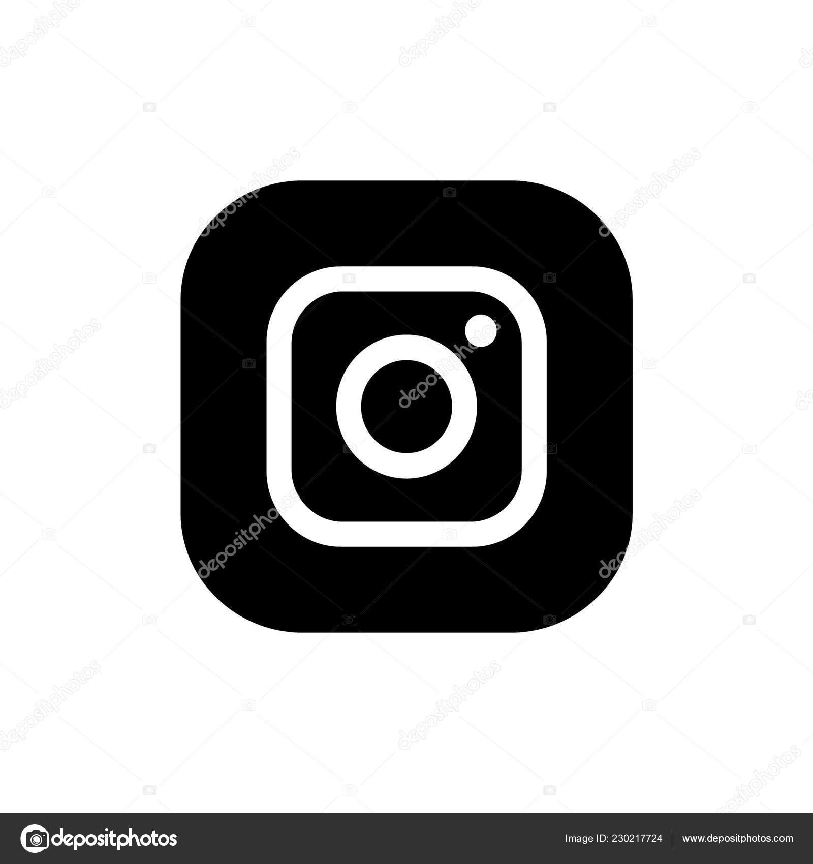 Logo Instagram Sfondo Bianco Vettoriali Stock Rteuman 230217724
