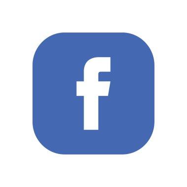 Facebook Logo Vector Editorial