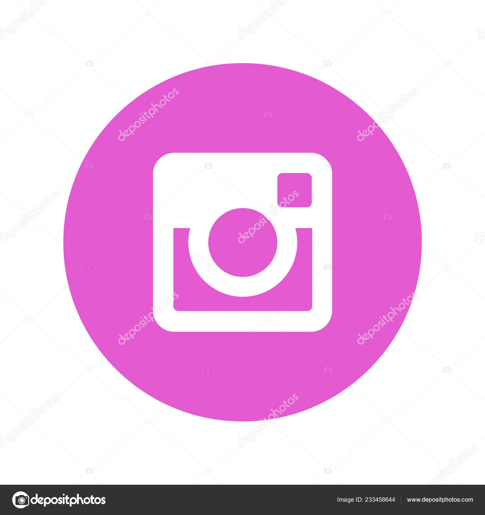 Logo Instagram Sfondo Bianco Vettoriali Stock Rteuman 233458644
