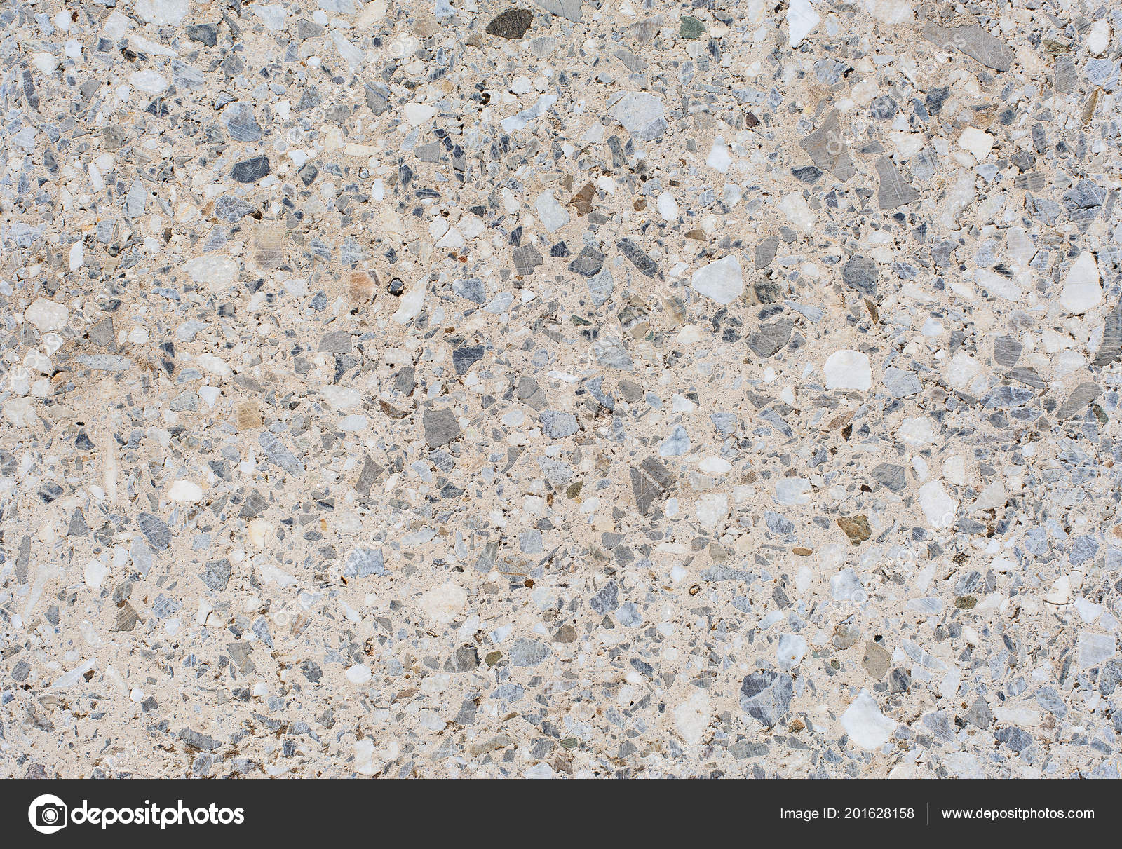 Texture Background Light Granite Tile Interspersed Stone Design