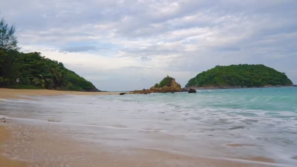 tropical beach for relaxation, travel and tourism