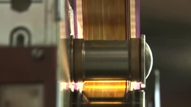 35 mm Filmstreifen. Bewegungs-Filmstreifen.