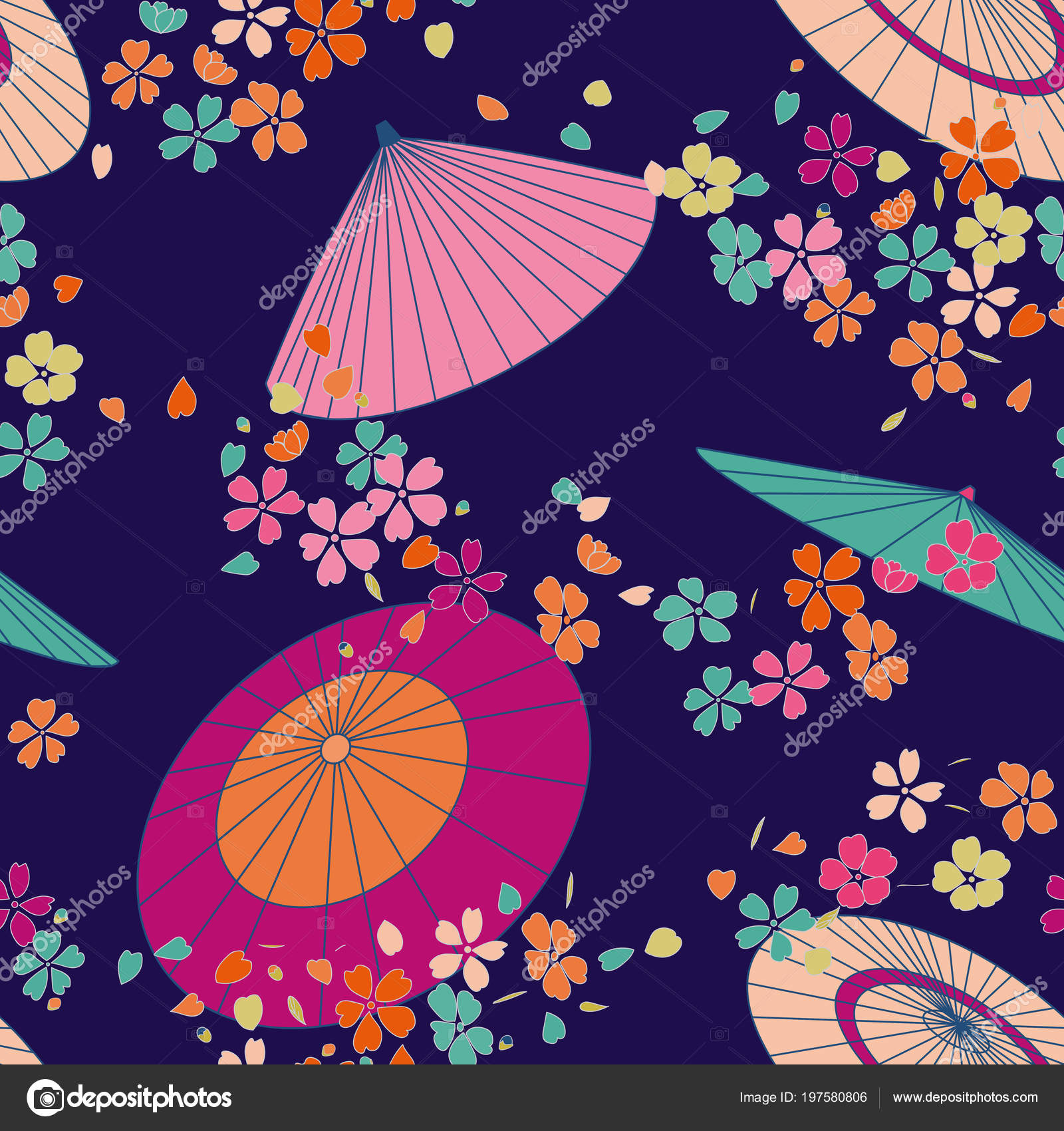 Umbrella Pattern Cool Inspiration Design
