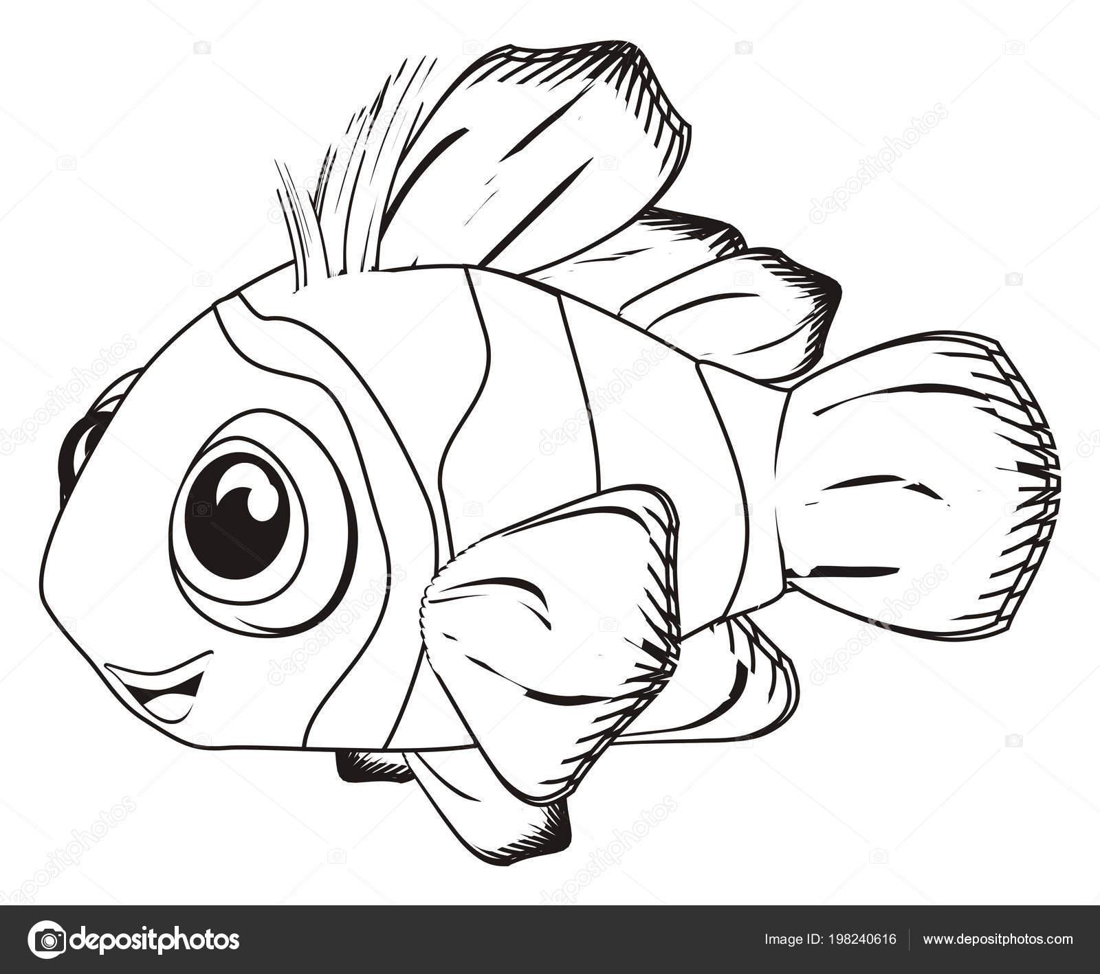 Disegni Pesce Pagliaccio Disegni Colorare Pesci