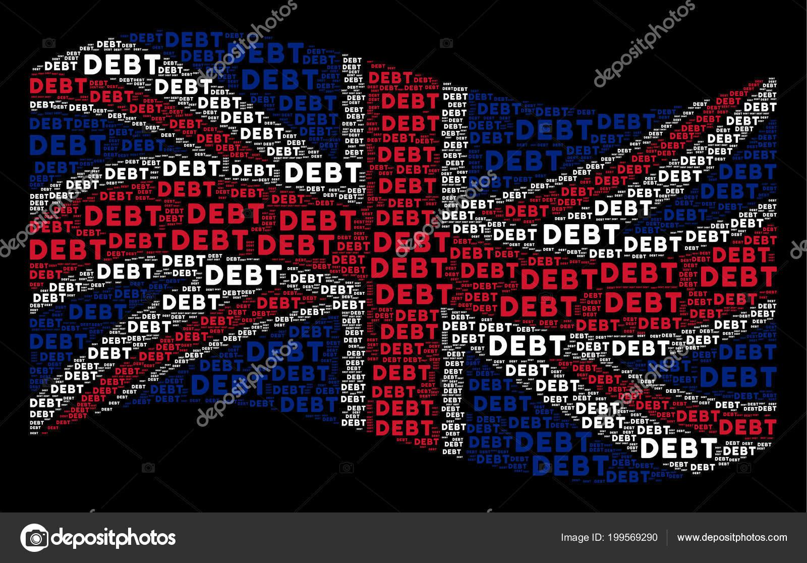 Britse Vlag Patroon Van Schuld Woorden Zwaaien Stockvector