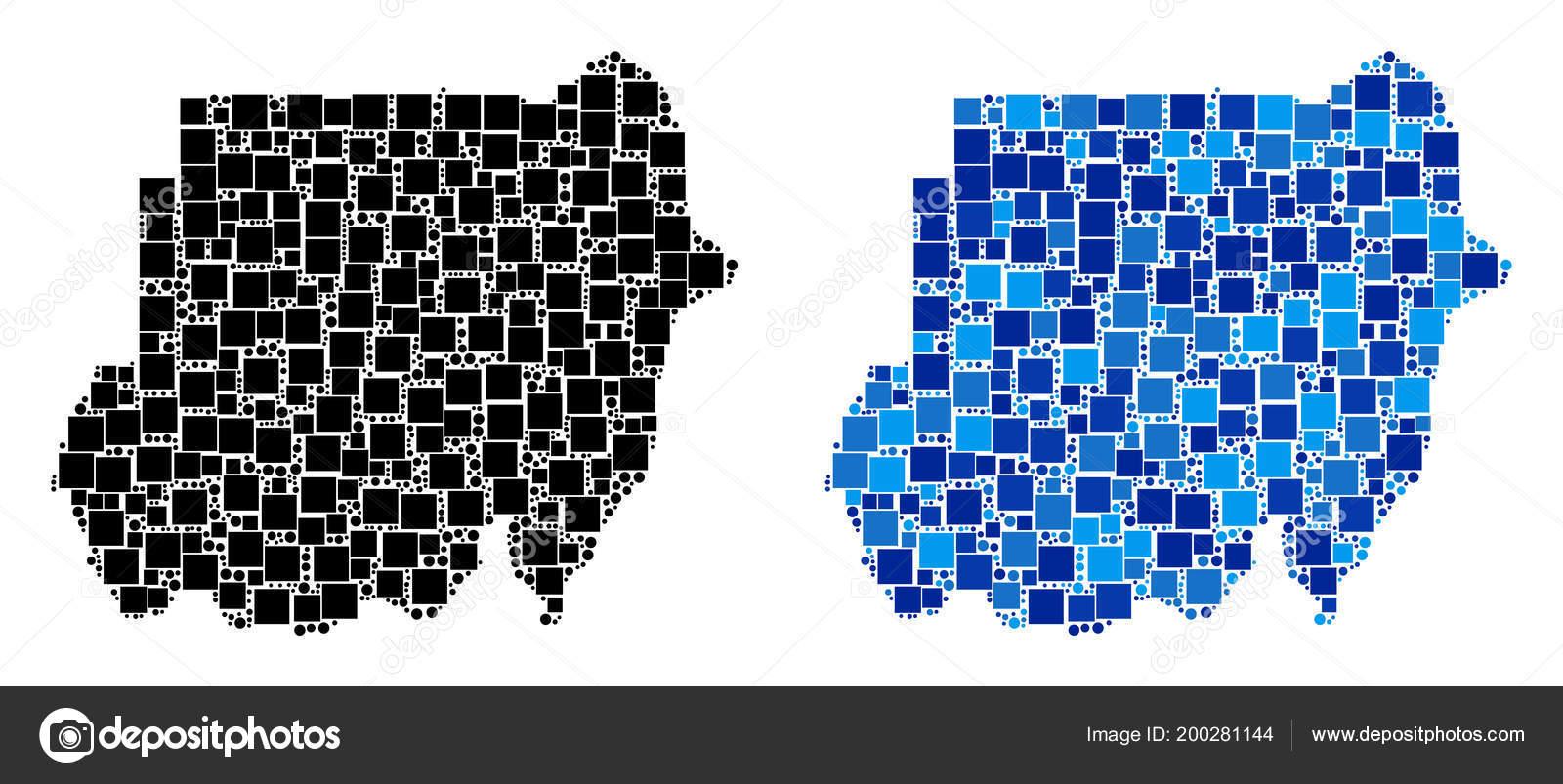 Blauer hintergrund sudan