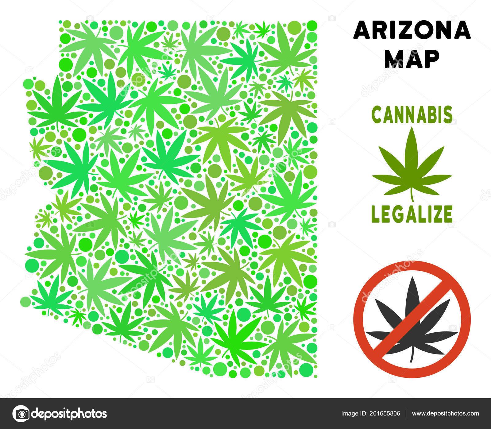 Arizona State Map Free.Royalty Free Marijuana Leaves Style Arizona State Map Stock Vector