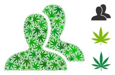 Clients Mosaic of Cannabis