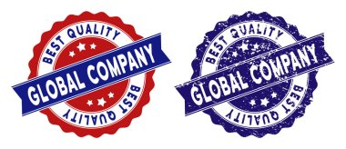 Global Company Best Quality Stamp with Dirty Style