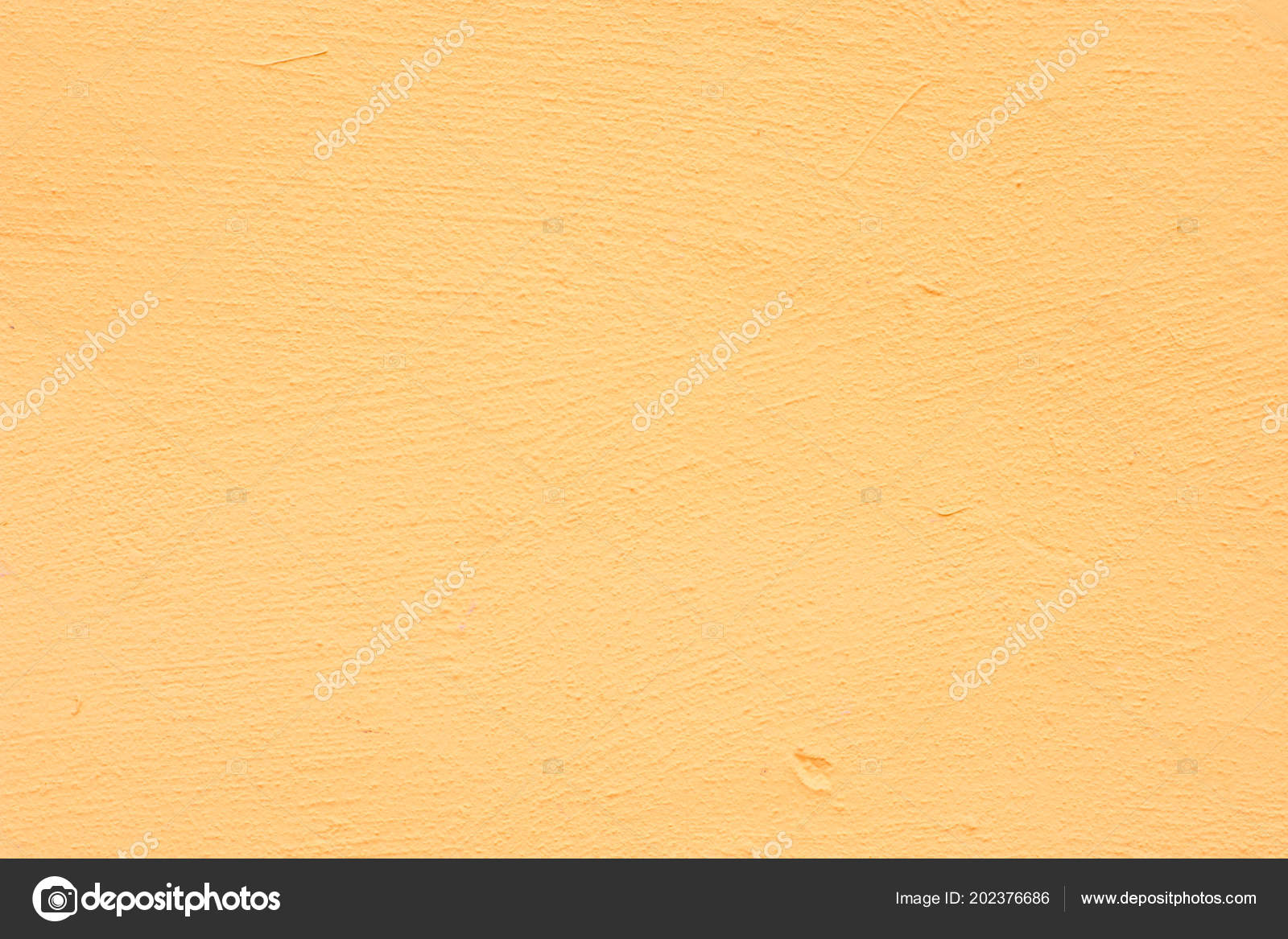 Background Yellow Stucco Coated Painted Exterior Rough Cast Cement ...