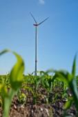 Fotografie Erneuerbare Energie - Stromerzeugung mit Windkraftanlagen