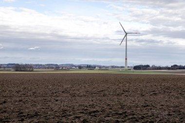 Renewable Energy - power generation with wind turbine