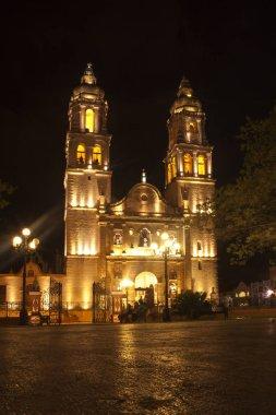 Mexiko, Yucatan, Campeche, Catedral de la Conception