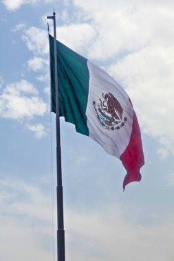 Mexico flag in Mexico City