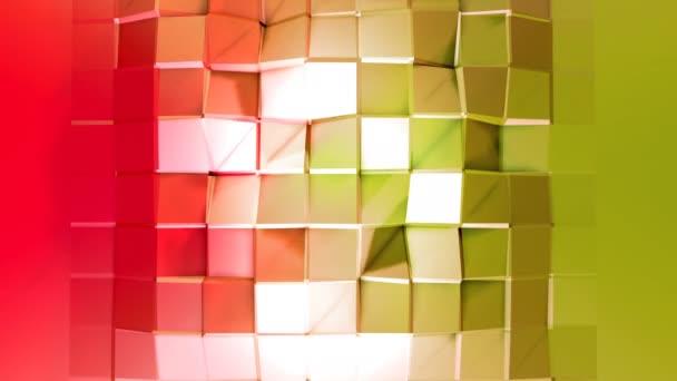4 k čištění nízká poly animované pozadí ve smyčce. Bezproblémovou 3d animace v moderní geometrické stylu s moderní barvy přechodu. Kreativní a jednoduché pozadí. 5