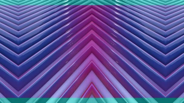 popular gradient color stripes move cyclically. Abstract 3d smooth seamless bright background in 4k. Simple geometry in cartoon creative style. Looped animation. Lines 2