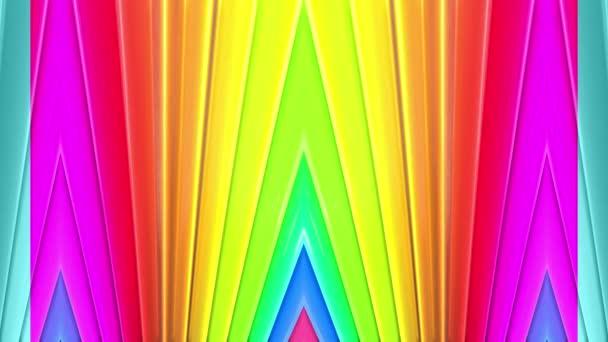 duhové barvy abstraktní pruhy, pozadí 4 k s jasně lesklou barvou. Hladké plynulé animaci s barevným přechodem. Rovné čáry 22