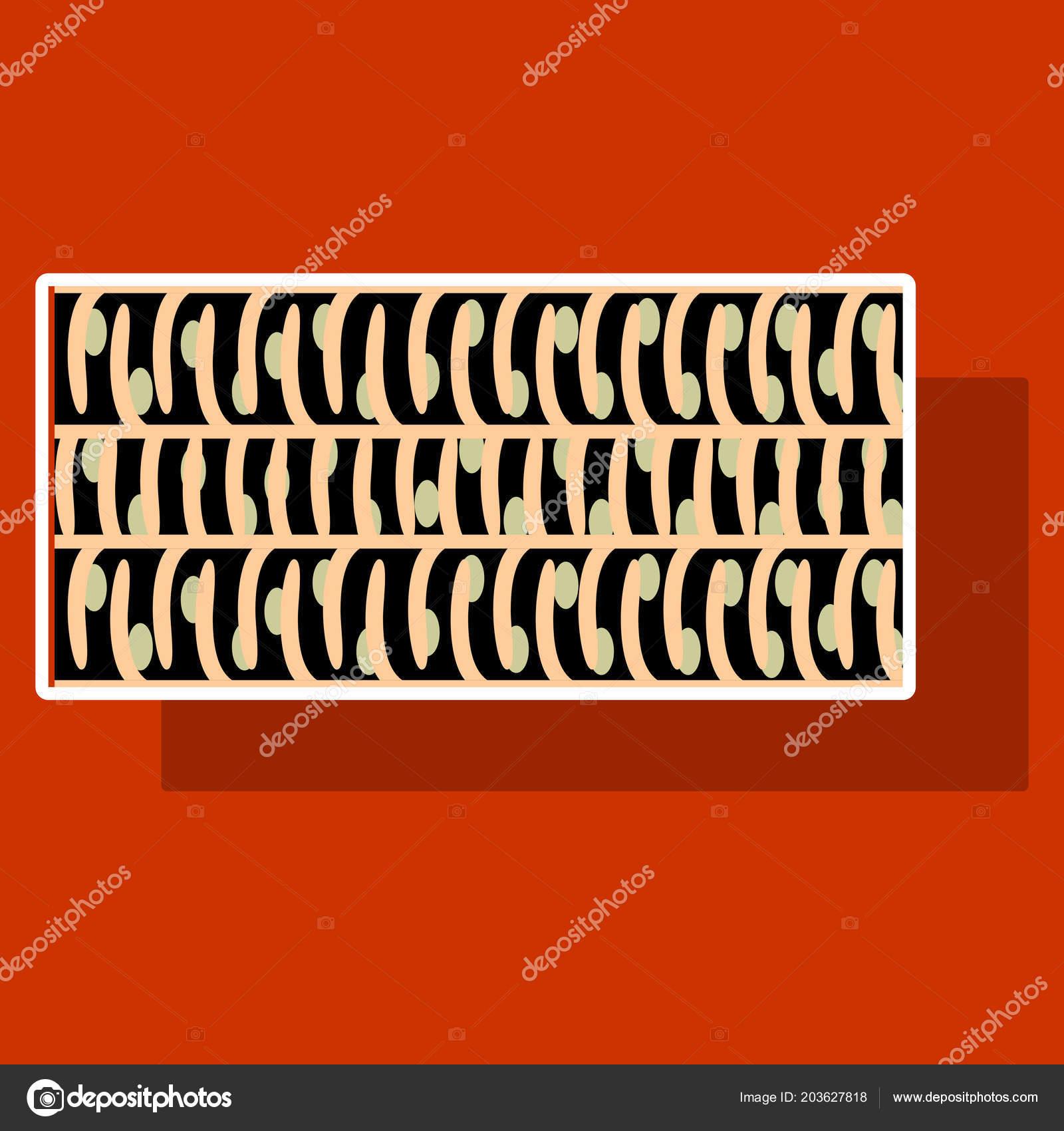 Etiqueta que muestra el tipo de ilustración de las células de ...