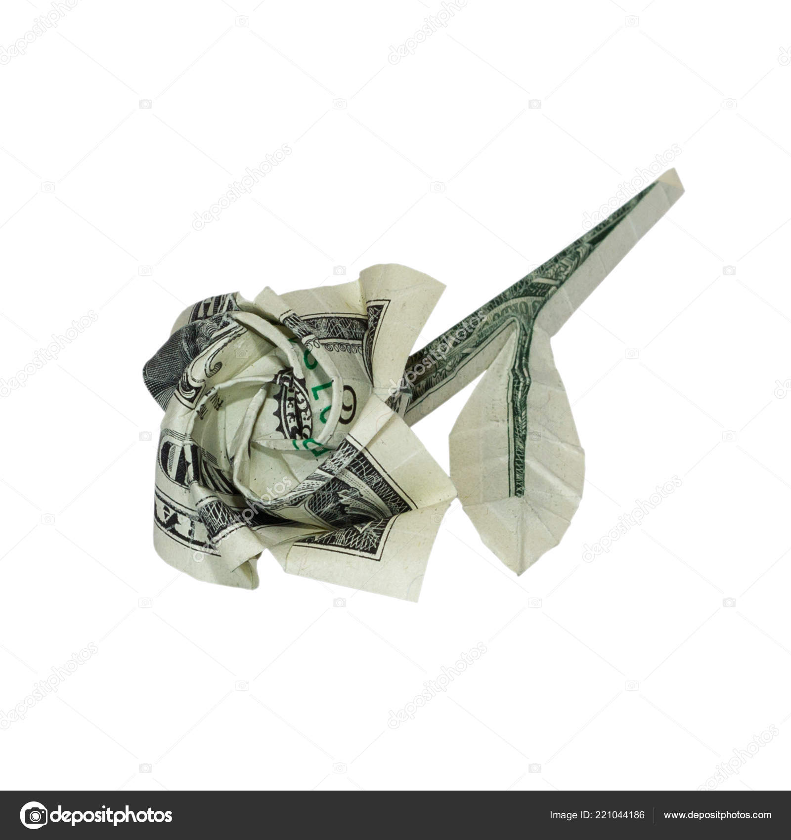 Money Origami, Flower Edition: 10 Different Ways to Fold a Dollar ... | 1700x1600