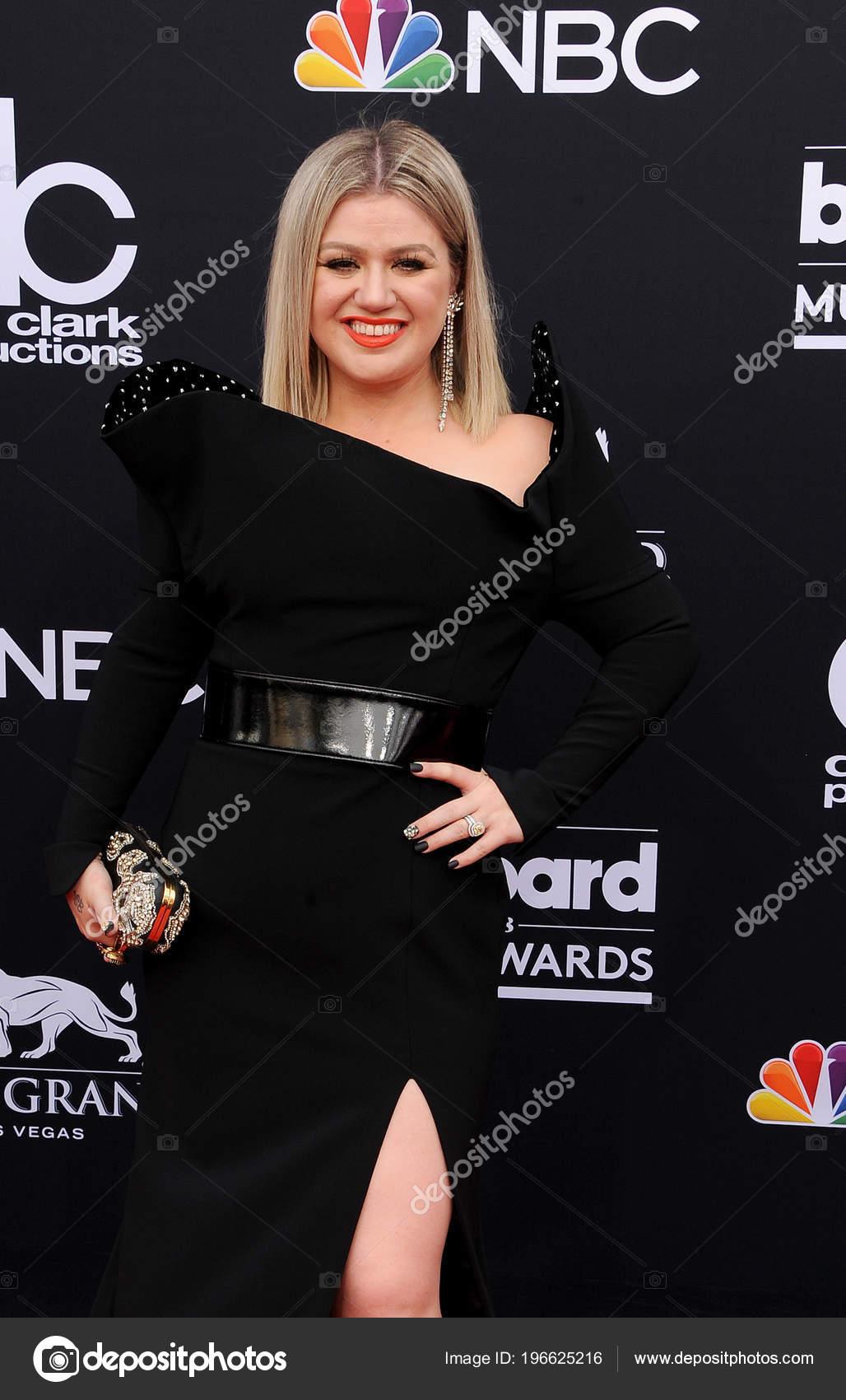 Singer Kelly Clarkson 2018 Billboard Music Awards Held Mgm Grand ...
