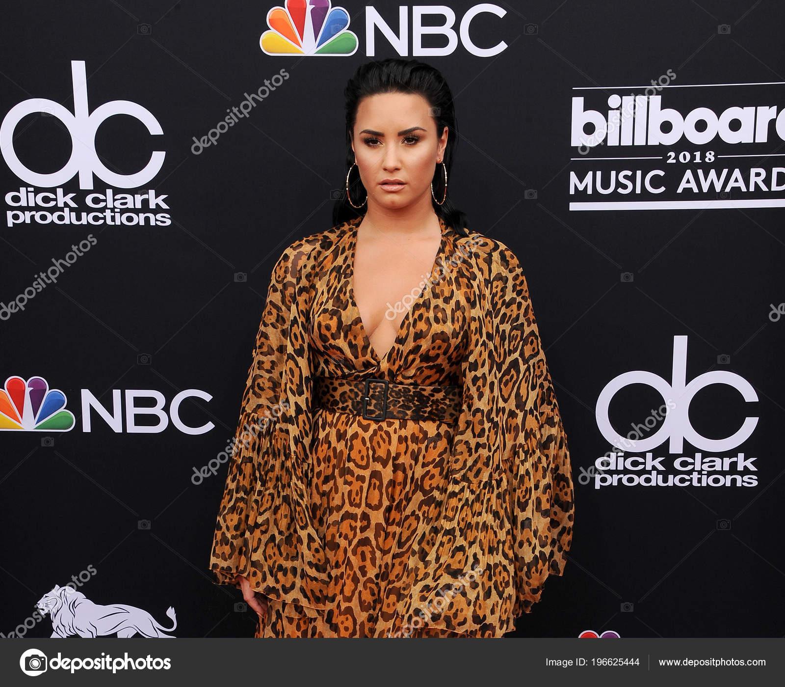 Singer Demi Lovato 2018 Billboard Music Awards Held Mgm Grand ...