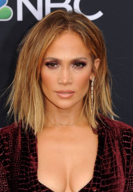 singer Jennifer Lopez at the 2018 Billboard Music Awards held at the MGM Grand Garden Arena in Las Vegas, USA on May 20, 2018.